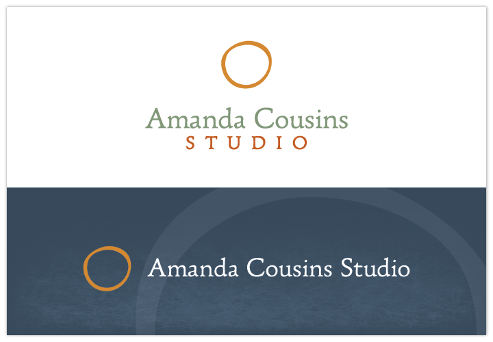 Image of Amanda Cousins Studio logo by John Paredes Design
