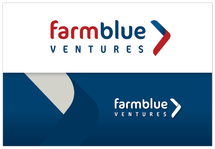 Image of FarmBlue Ventures logo by John Paredes Design