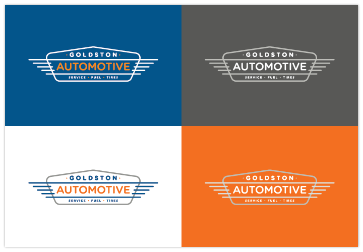 Image of Goldston Automotive logo by John Paredes Design