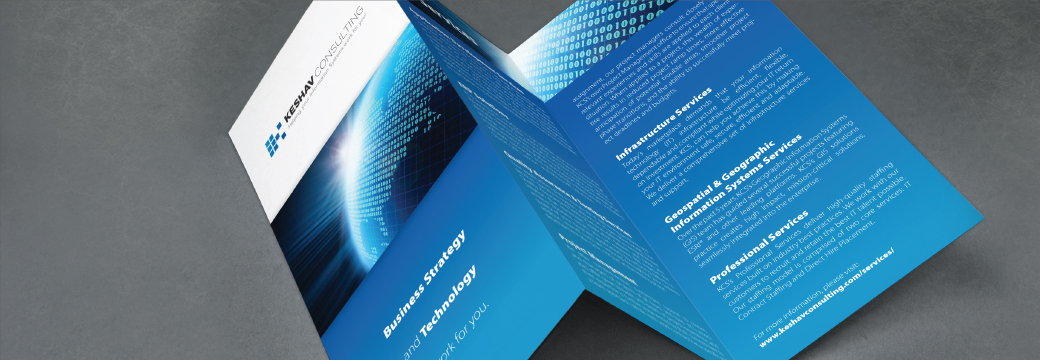 Image of trifold brochure